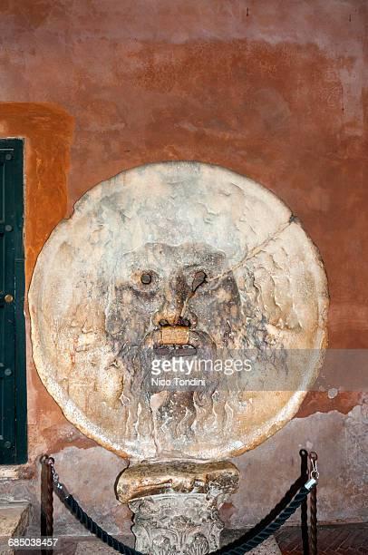 Mouth of Truth, Bocca della Verita, Basilica of St. Maria in Cosmedin, Rome, Unesco World Heritage Site, Latium, Italy