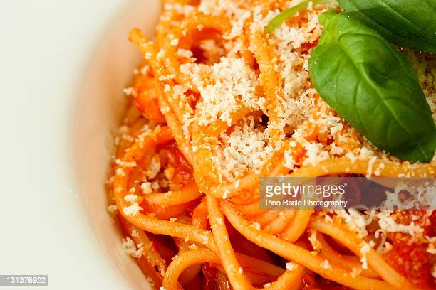 Mouth watering spaghetti dish