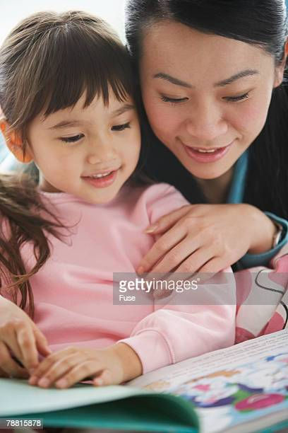 Mouther and Daughter Reading