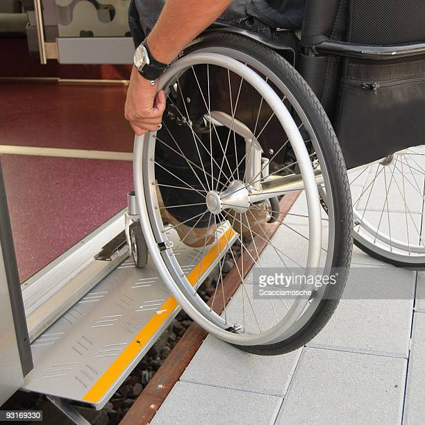 Move independently with a wheelchair