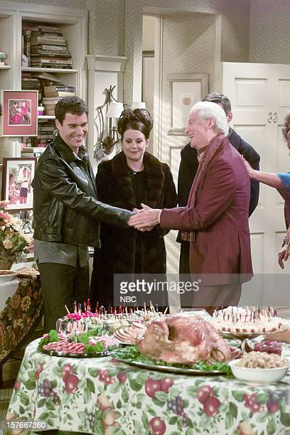 WILL GRACE 'Moveable Feast' Episode 9 Pictured Eric McCormack as Will Truman Megan Mullally as Karen Walker Neil Vipond as Julius