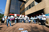 """""""Hold The Line To Build Back Better"""" Rally At Rep. Josh..."""