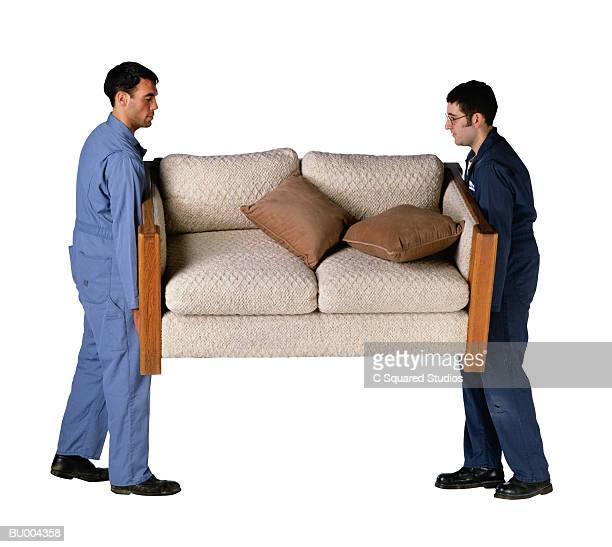Movers Carrying a Sofa