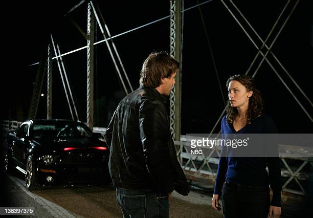 'KNIGHT RIDER' Movie Airdate 2/17/2008 Pictured Justin Bruening as Mike Traceur Deanna Russo as Sarah Graiman