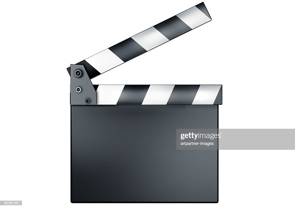 Movie Clapper, Clapperboard or Slate