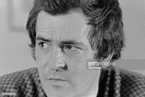 Movie Director Bernardo Bertolucci during an interview on November 11 1973 in New York New York