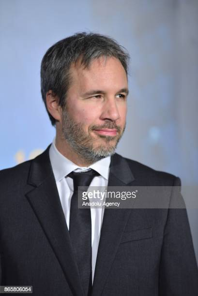 Movie director Denis Villeneuve attends the Premiere of the movie Blade Runner 2049 in Tokyo Japan on October 24 2017