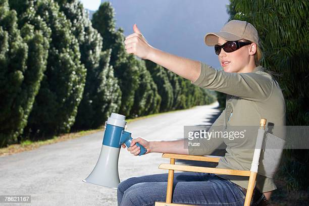 Movie Director Giving Thumbs Up