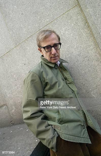Movie director Woody Allen on Centre St