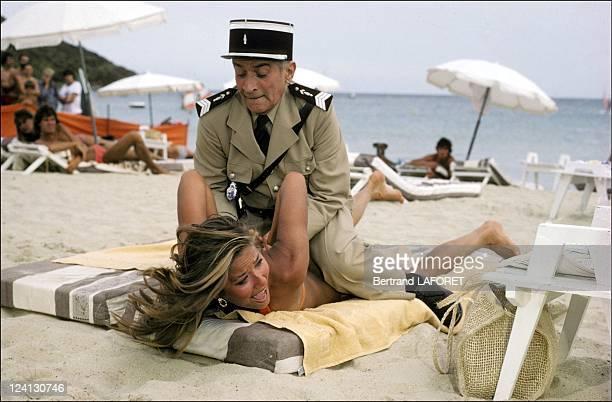 Movie 'Le gendarme et les extra terrestres' in France in September 1978 Louis de Funes
