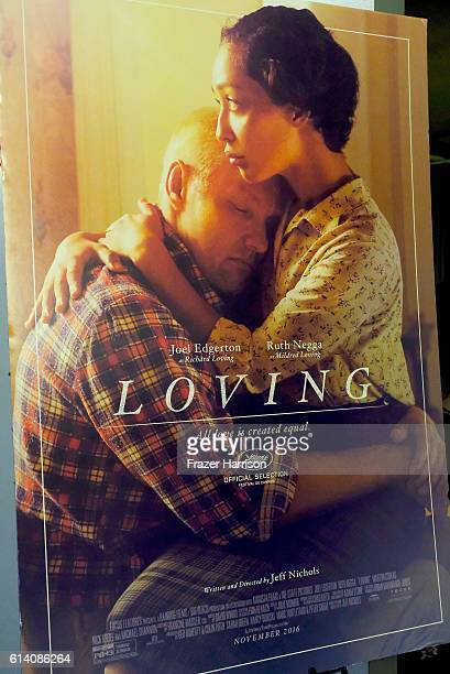 Movie Poster for Loving at Australians In Film Presents 'Loving' Screening and QA with Joel Edgerton at Landmark Theatre on October 11 2016 in Los...