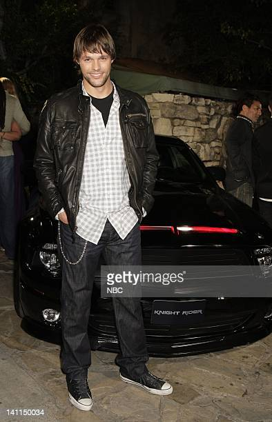 'KNIGHT RIDER' Movie Premiere Party Pictured Actor Jason Bruening attends the 'Knight Rider' premiere party held at the Playboy Mansion in Los...