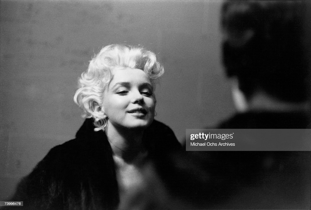 Movie star <a gi-track='captionPersonalityLinkClicked' href=/galleries/search?phrase=Marilyn+Monroe&family=editorial&specificpeople=70021 ng-click='$event.stopPropagation()'>Marilyn Monroe</a> is seen in a candid moment on the street in March 1955 in New York City, New York.