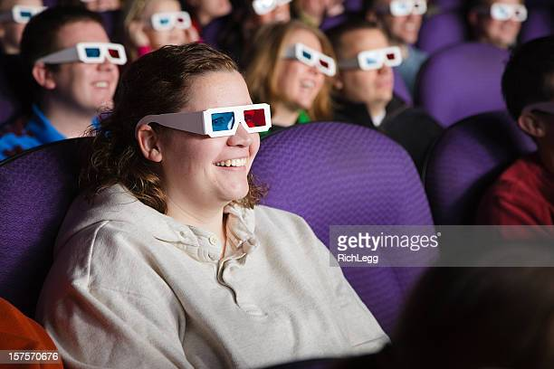 3D Movie Theater Audience