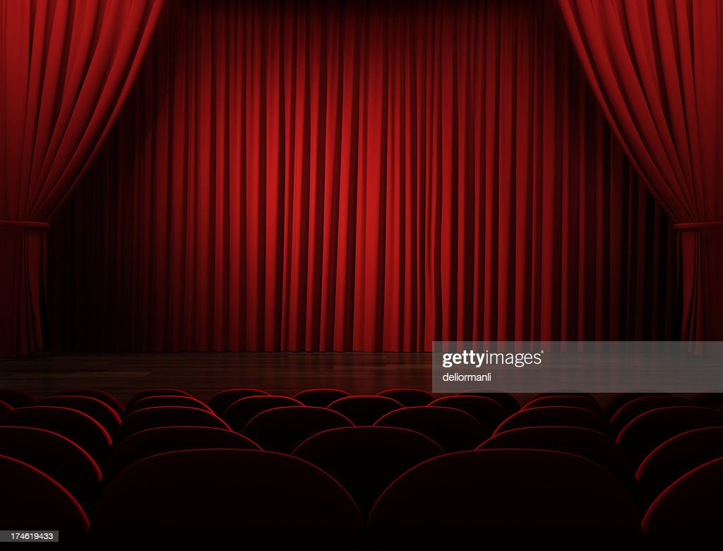 Movie Theater (With Clipping Path)