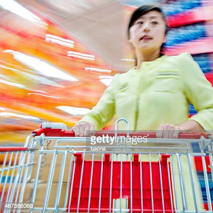moving a shopping cart