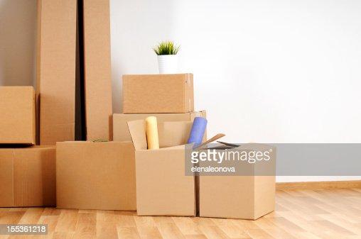 Spostamento scatole