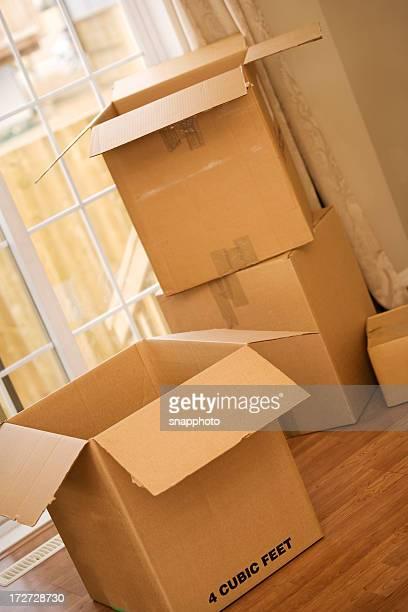 Déplacer de boîtes