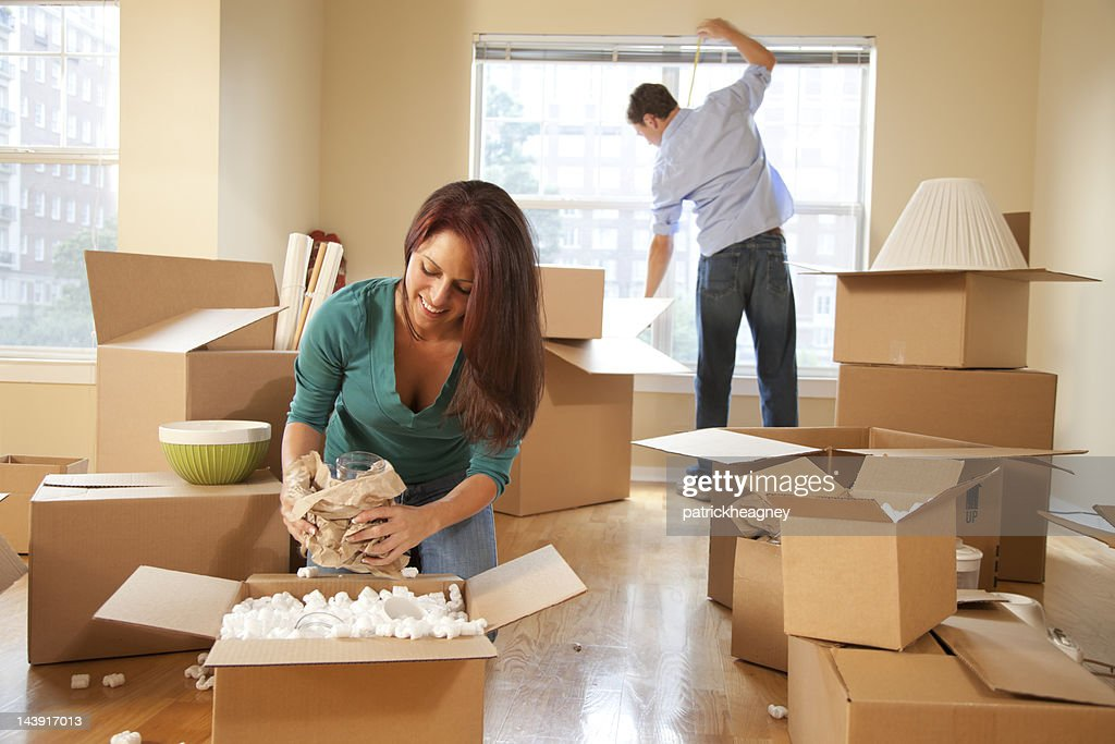 Moving Day : Stock Photo