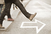 Moving forward, daring to take the step