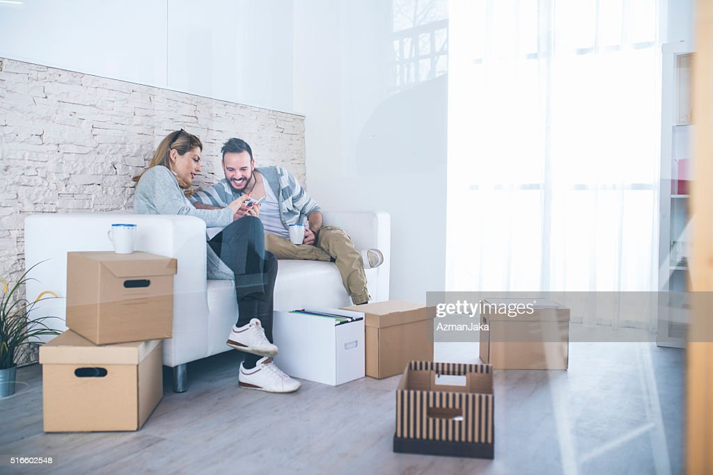 Moving house : Stock Photo