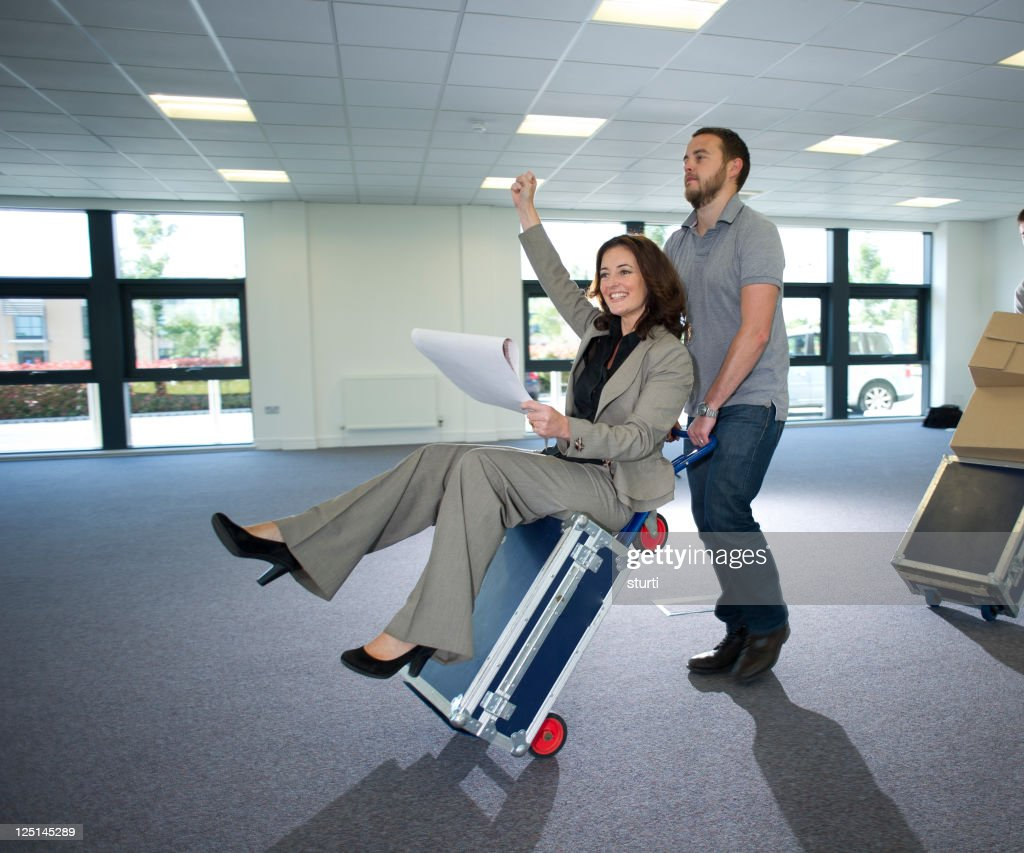 moving in day : Stock Photo