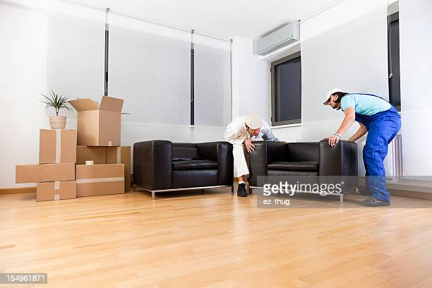 Moving into a new house