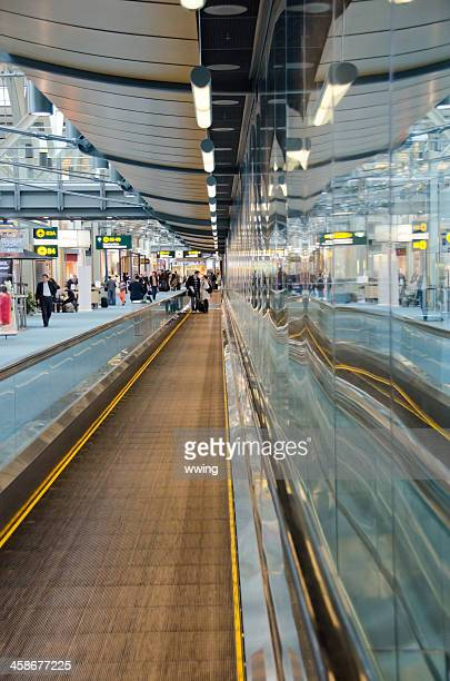Moving Sidewalk  ... Vancouver Airport
