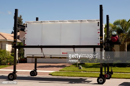 Moving Storage Container On Loading Dolly Stock Photo Thinkstock