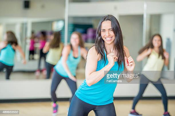 Moving to the Music In Dance Fitness Class
