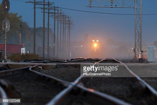 Moving Train, Ogallala, Nebraska, America, USA