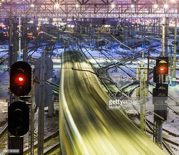Moving Züge und motion blur