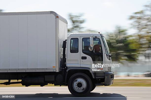 Camion in movimento