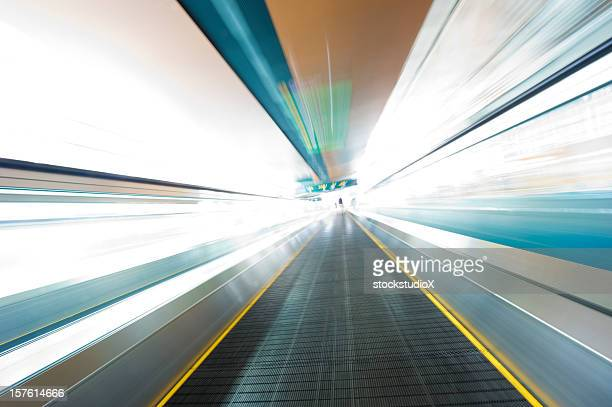 Moving Walkway Abstract