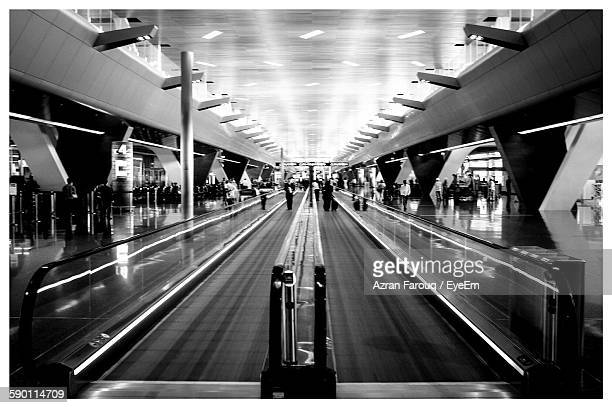 Moving Walkway At Abu Dhabi International Airport