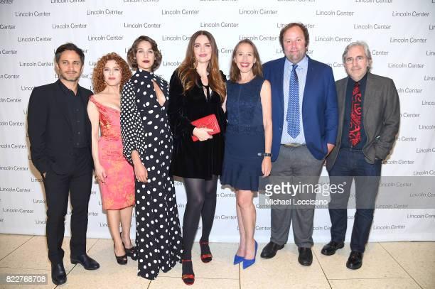 'Mozart in the Jungle' actors Gael Garcia Bernal Bernadette Peters Lola Kirke and Saffron Burrows producer Caroline Baron producer Will Graham...