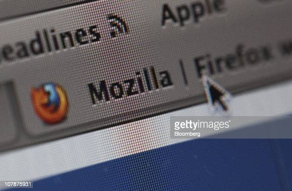 A Mozilla Corp's Firefox web browser tab is displayed on a computer monitor in London UK on Wednesday Jan 5 2011 Mozilla Corp's Firefox topped...