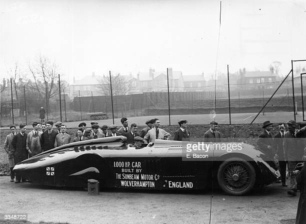 1000 mph car with which Major Henry Segrave set a world record of 203 mph at Daytona Beach in 1927