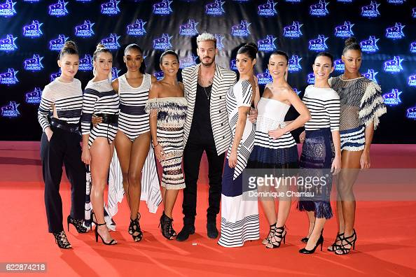 Pokora attends the18th NRJ Music Awards Red Carpet Arrivals at Palais des Festivals on November 12 2016 in Cannes France