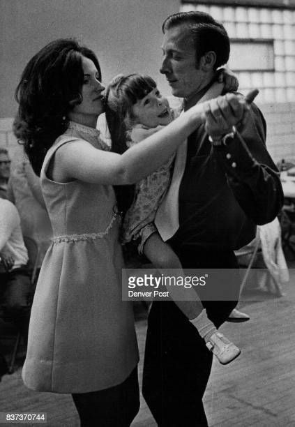 STEP Mr and Mrs Gary Hoselton 2573 Weaver Ave Littleton let their daughter Cathleen join in a threesome during a polka dance at the Slovenian Home...