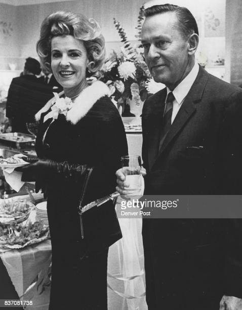 Mr and Mrs Lewis Hayden They were among patrons of the Debutante Ball who took in party Saturday given by the Denver Dry Goods Co Credit Denver Post