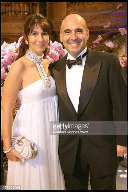 Mr and Mrs Philippe Journo at AROP Production Of 'Demofoonte' At Palais Garnier