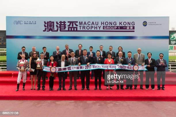 Mr Anthony Chow Deputy Chairman of The Hong Kong Jockey Club Ms Angela Leong Vice Chairman Executive Director of Macau Jockey Club Stewards and...