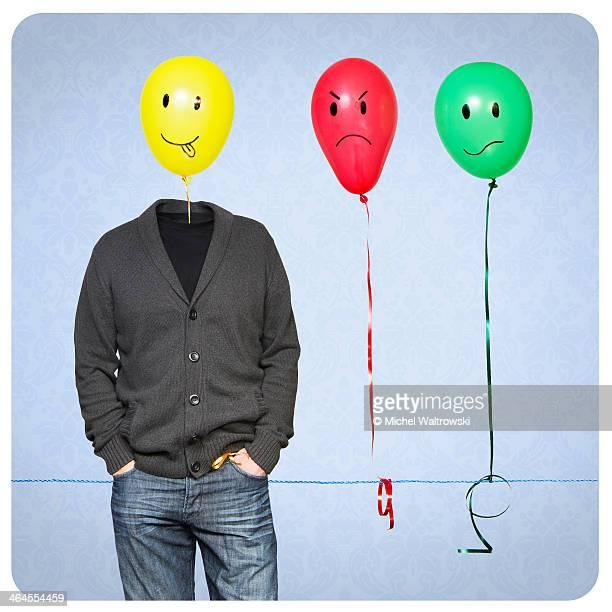 Mr Balloonski and his moods