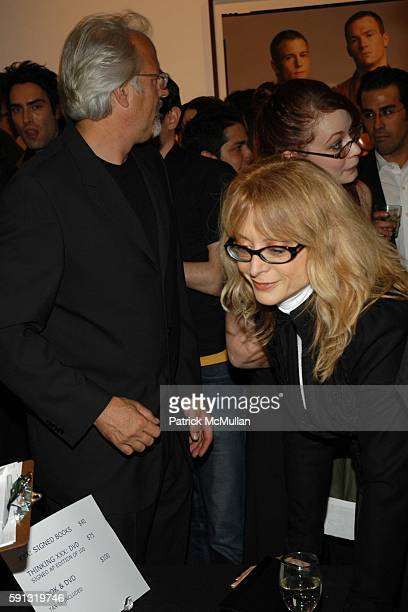 Mr Berman and Nina Hartley attend Ten presents Timothy GreenfieldSanders XXX 30 PornStar Portraits West Coast Exhibit at Berman/Turner Projects on...