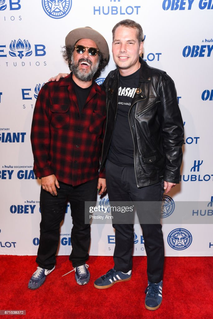 """Photo Op For Hulu's """"Obey Giant"""""""
