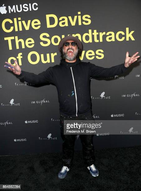 Mr Brainwash at the Premiere Of Apple Music's 'Clive Davis The Soundtrack Of Our Lives' at Pacific Design Center on September 26 2017 in West...