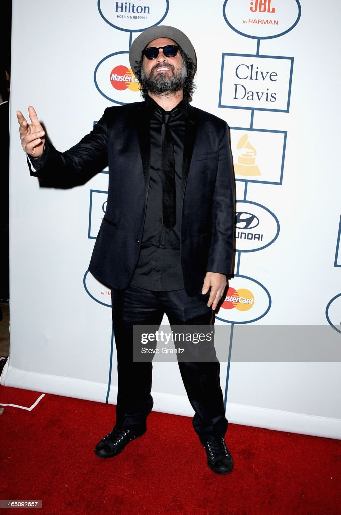 Mr Brainwash attends the 56th annual GRAMMY Awards Pre-GRAMMY Gala and Salute to Industry Icons honoring Lucian Grainge at The Beverly Hilton on January 25, 2014 in Los Angeles, California.