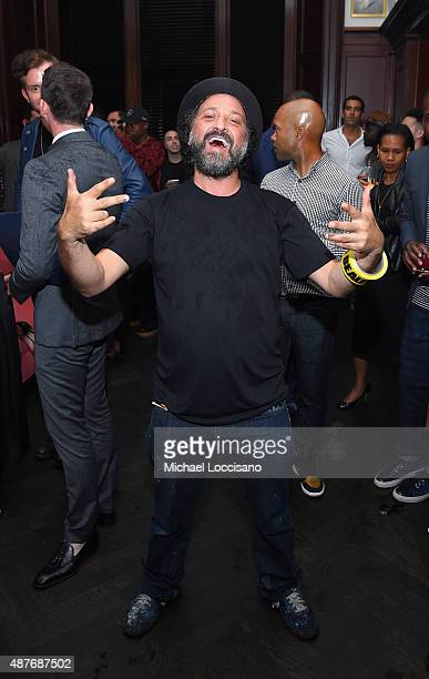Mr Brainwash attends the Rihanna Party at The New York Edition on September 10 2015 in New York City
