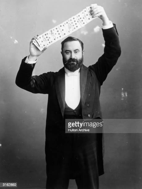 Mr C Bertram aka The Great Bertram a popular Victorian conjuror